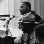 """Martin Luther King, Jr. delivering his """"I Have a Dream"""" speech in 1963."""