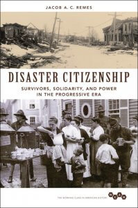 The cover of Disaster Citizenship