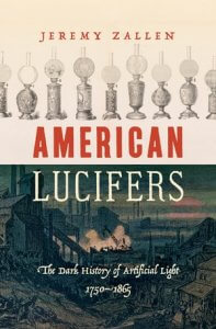 The cover of Jeremy Zallen's American Lucifers.